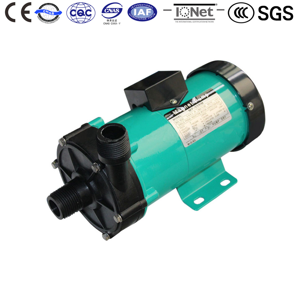 Electric Centrifugal Water pump 220V 50HZ MP-55RZ Fusion metallurgy,handle waste liquid,clean machine,pure water production centrifugal water pump mp 70rzm 220v 50hz magnetic drive cleaning ion exchange resin collect transport waste liquid waste gas