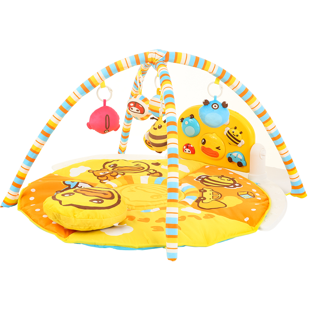 New Baby Play Mat Kick Piano Gym Fun Activity Center With