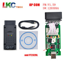 2017 A+++ Quality OP-COM CANBUS with PIC18F458 Top selling OP COM For O–p-el OBD2 Diagnostic Scanner OP COM /Free Shipping