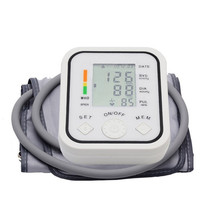 Arm Blood Pressure Pulse Monitor Health care Monitors Digital Upper Portable Blood Pressure Monitor tonometer  sphygmomanometer