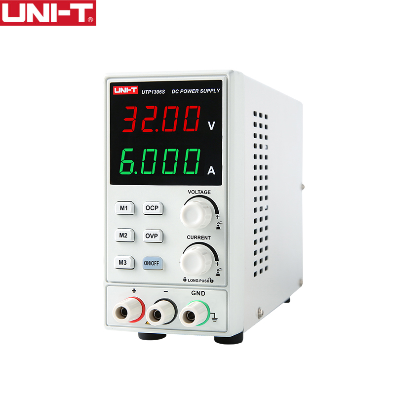 UNI T UTP1306S DC Power Supply Single channel 4 Digits Display Voltage Current Adjustable 0 32V