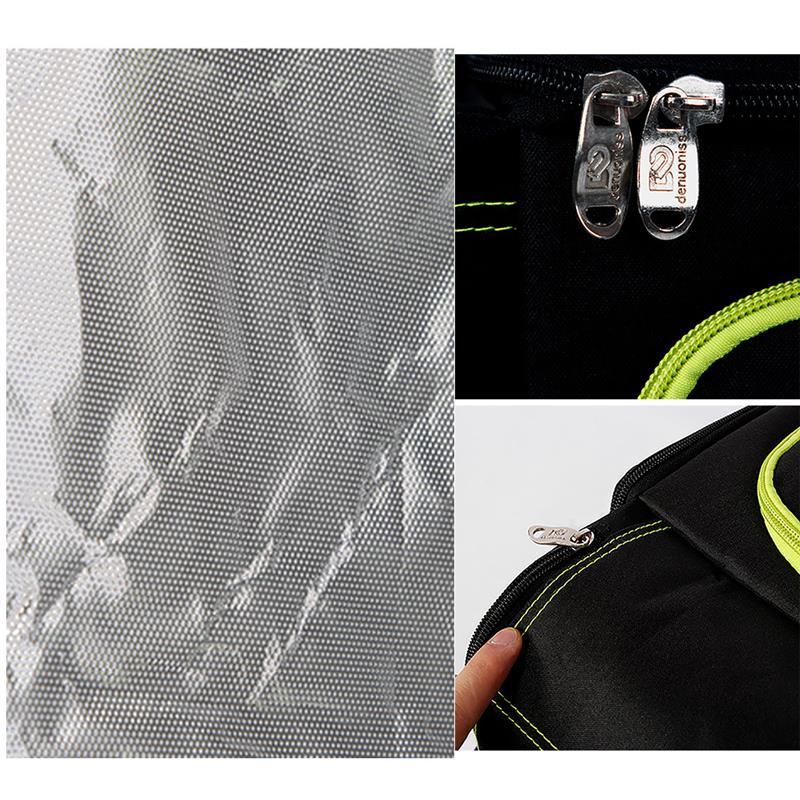 piquenique folha de alumínio grande saco da