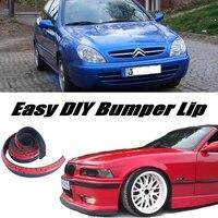 NOVOVISU Bumper Lip Deflector Lips For Citroen Xsara / Picasso Front Spoiler Skirt For Car Tuning View / Body Kit / Strip