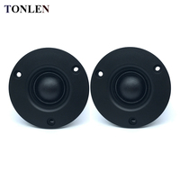 TONLEN 2PCS Neodymium Tweeter Speaker 74mm 20W 4 Ohm 8ohm HIFI Tweeter Unit Silk Film Fiber