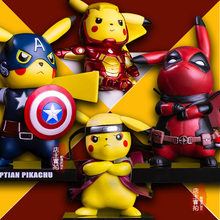 Pikachu Cosplay PVC Figure Collectible Model Toy(10+ styles)