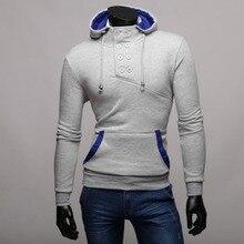 2016 Brand Mens Hoodies and Sweatshirt Men Fashion Long Sleeves Casual Tracksuits Mens Summer Style Hip