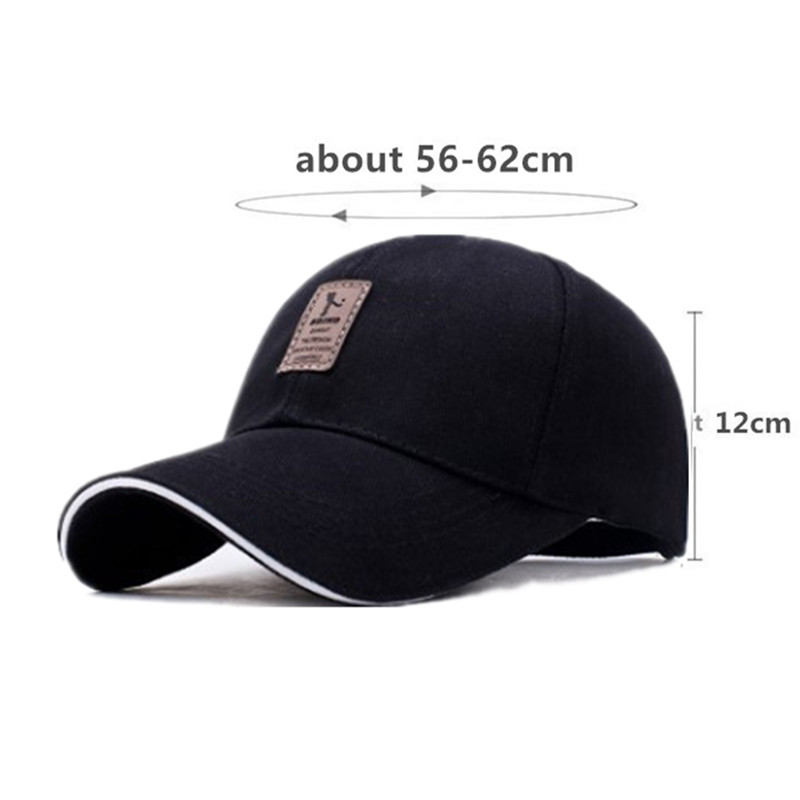 XdanqinX Snapback Cap Adult Men 39 s Cotton Baseball Caps Adjustable Size Tongue Cap For Men Women New Fashion Letter Women 39 s Hat in Men 39 s Baseball Caps from Apparel Accessories