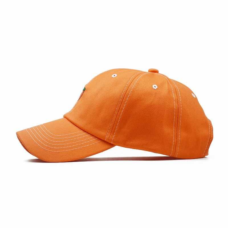 834160cef New Arrival Spring Leisure Fresh Fruit Embroidery Hat Strawberry Banana  Cherry Orange Peach Baseball Cap For Women