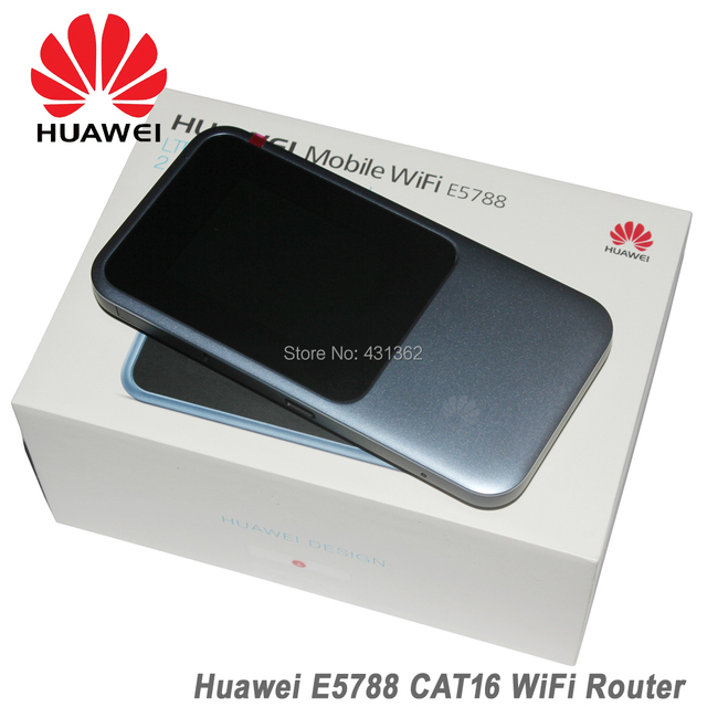 US $335 16 5% OFF|Huawei E5788 E5788U 96A Cat16 Gigabit Pocket 4G 5G LTE  Mobile WiFi Router-in 3G/4G Routers from Computer & Office on  Aliexpress com
