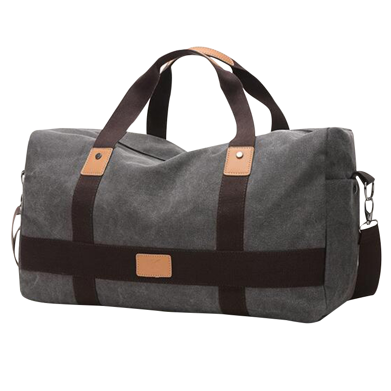 30% OFF ผู้ชายกระเป๋าเดินทางหนาผ้าใบ Weekendtas แฟชั่นกระเป๋าบรรจุก้อนกระเป๋าเดินทาง Duffle กระเป๋าผู้ชาย X086