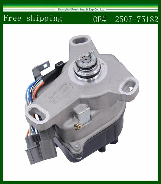 купить Free shipping New Ignition Distributor For Honda Prelude 1992-1996 TD61U  2507-75182