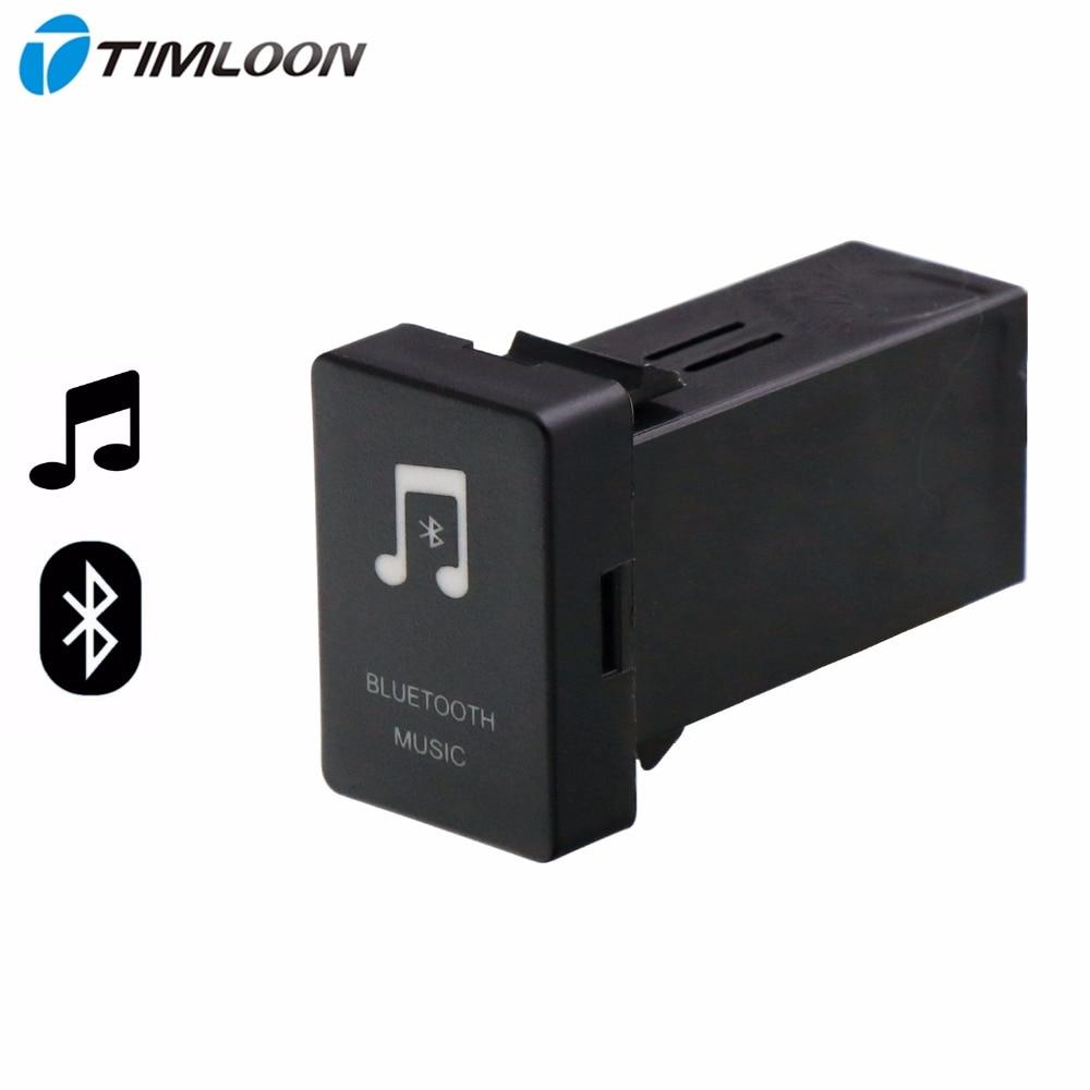 Car Bluetooth Music Adapter Module Panel Installation AUX Output Use for TOYOTA,Camry,Corolla,Yaris,RAV4,Reiz,Land Cruiser