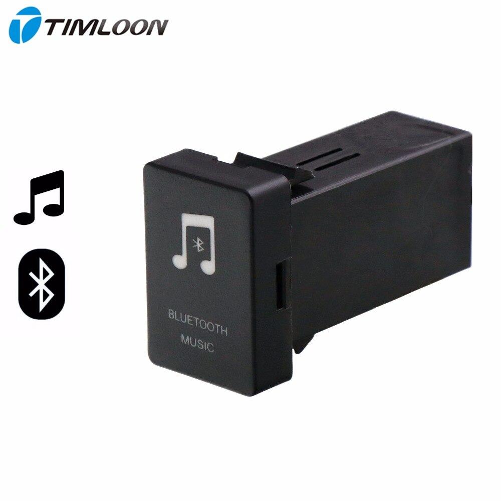 Voiture Bluetooth Musique Adaptateur Module Panneau Installation AUX Sortie Utiliser pour TOYOTA, Camry, Corolla, Yaris, RAV4, Reiz, Land Cruiser