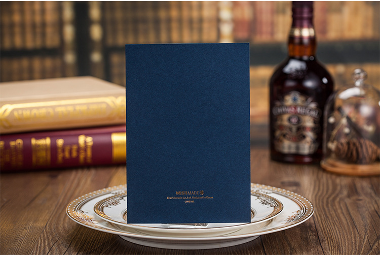 Wishmade 100pcs Elegantno modro lasersko izbrano poročno - Prazniki in zabave - Fotografija 4
