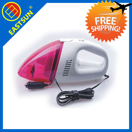 free shipping EASTSUN Mini Portable 12V Car Vacuum Cleaner Dust Cleaner Wet and Dry High Power 40W Handheld for Home Vehicle