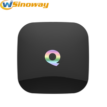 Q Box Android 6.0 TV BOX qbox HD Receiver 2GB RAM 16GB ROM Amlogic S905x KODI IPTV Smart TV Set-top Box media player Q-BOX(China)