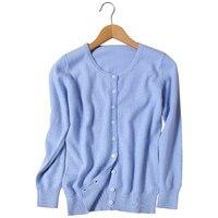 2017 Suéter de Cashmere Cardigan Feminino Casual Plus Size Mulheres Casacos De Malha Poncho Vermelho Rosa Azul Lavanda Verde Amarelo S ~ 3XL