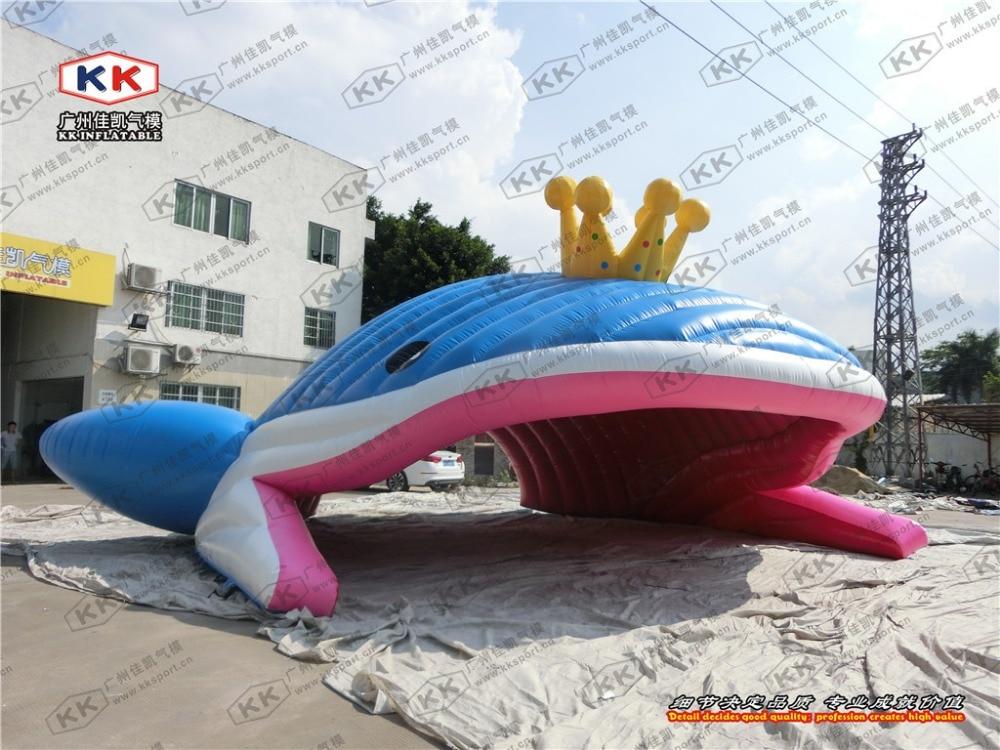 Baleine gonflable géante de publicité de tente de modèle gonflable de poisson gonflable