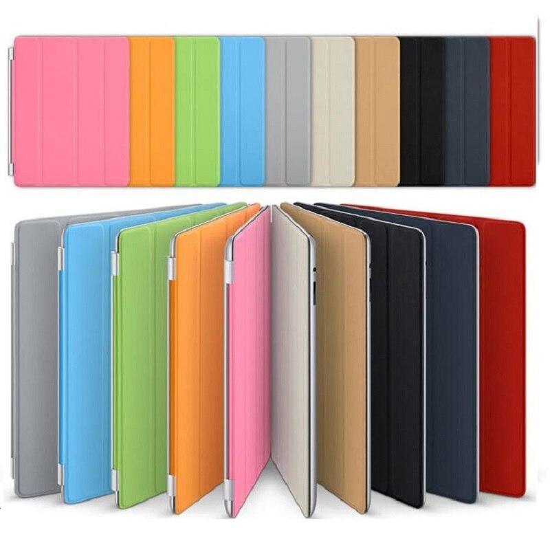New Ultra-thin 3 Folding Single-face For iPad Pro 12.9 Case Flip Magntic Wake-Up Funda Case for iPad Pro 12.9 Protective Cover