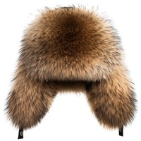 Male Hat Winter Warm Real Leather Fur Bomber Hats Winter Luxury Natural Fox Fur Hats For Men Trapper Earflap Cap