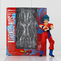 Anime Dragon ball Z SH Figuarts Super Saiyan God Goku Joint Movable PVC Action Figure Collection Model Kids Toy Doll DIY Toy
