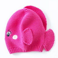 Winter Warm Knitted Hat Baby Beanie Newborn Caps Cute Soft Lovely Thick Organic Cotton Toddler