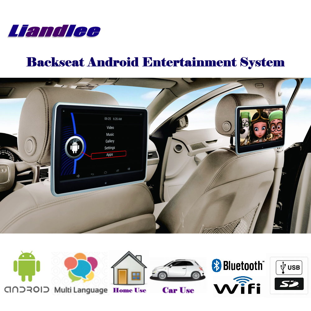 10 1 inch Portable Car Android Andriod Multimedia Player Headrest Head Rest Restraints HD Monitor Screen