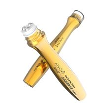 Gold Roll Ball on Eye Cream Anti Aging Dark Circle Essence Crystal Collagen Remove wrinkles activating eye cream 10ml Care