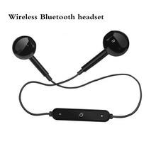 SS6 Sports Sem Fio Bluetooth headset Estéreo baixo fone de ouvido Fones de Ouvido Fones De Ouvido Com Microfone Para Android IOS Samsung Xiaomi huawei