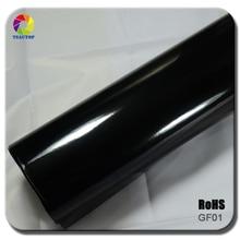 Factory Price (1.52x30M)60''X1181'' air free bubbles 10colors glossy vinyl car wrap vinyl film
