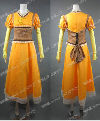 Free shipping Homestuck Jade Harley Cosplay Costume Halloween Costumes
