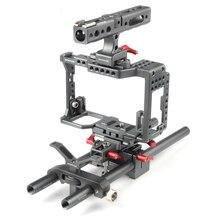 Waraxe Camera Kooi Kit Voor Voor Sony A7 Iii A7II A7S A7SII A7R A7RII A7R3 M3, met Top Handvat, Arca Basisplaat, Lens Houder