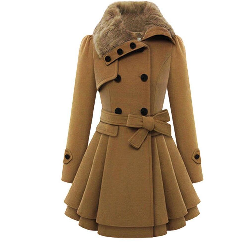 Бесплатная страуса Пальто для будущих мам Для женщин зимние теплые длинный рукав меховой воротник Мужские парки длинное пальто женские Пов... ...