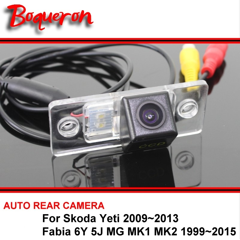 For Skoda Yeti Fabia 6Y 5J MG MK1 MK2 99 15 Car font b Camera b