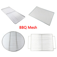 JIANDA Send Gift Newest BBQ Stainless Steel Grills Cooking Grill Grid Grate Barbecue Mesh Tools Outdoor