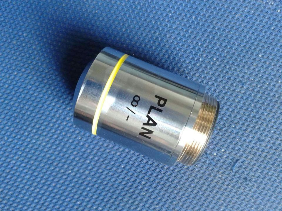 10X Infinity Objective Lens for Infinity Microscope Plan Achromat  Infinity Objective Lens for Biological Microscope brand new microscope achromatic objective lens 4x 10x 40x 100x set free shipping