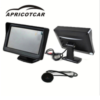 4 3 Inch Car Display Electric Car Three Wheel Reversing Image High Definition LCD Screen Travel