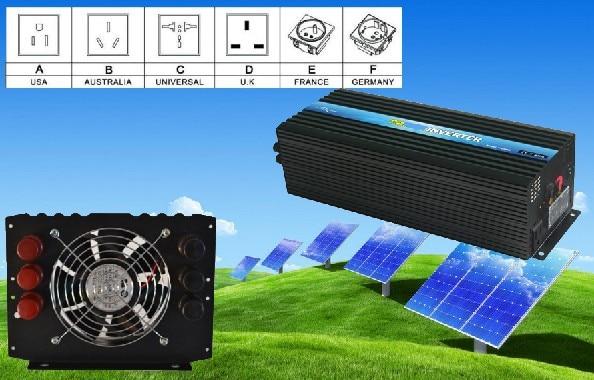 CE & RoHS approved, Single Phrase Off Grid  6000w dc12v/24v/48v to ac110v power inverterCE & RoHS approved, Single Phrase Off Grid  6000w dc12v/24v/48v to ac110v power inverter
