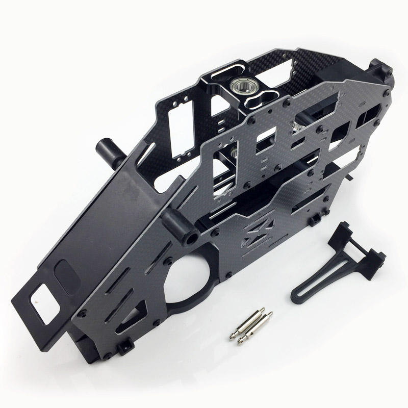 Carbon Fiber Main Frame Set (Belt Version) For Trex 500 Helicopter цены онлайн