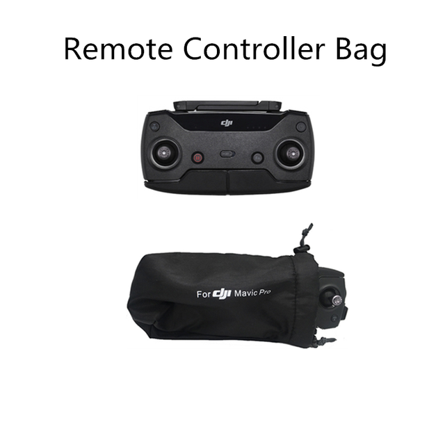 DJI Spark Remote Controller Soft Portable Bag Storage Box RC Package Carrying Case Protective Cloth Protection