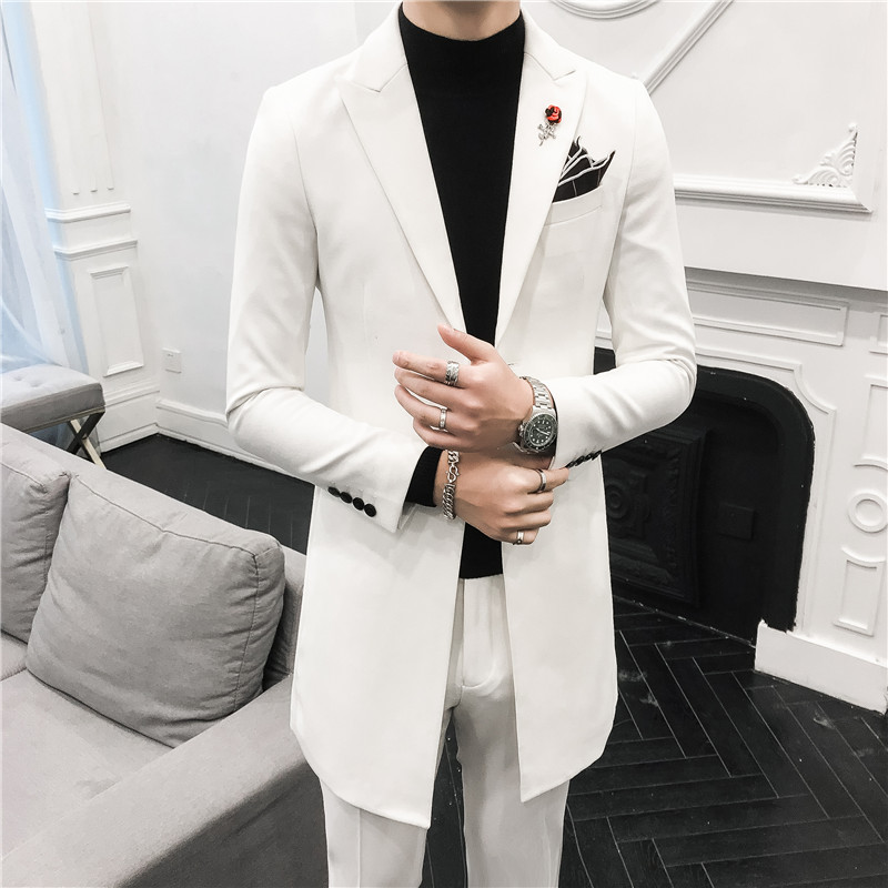 Classic Men Long Suits Fashion Business Banquet Mens Suit Jackets And Pants Size 3xl Slim Design Men Wedding Suits Suits Aliexpress