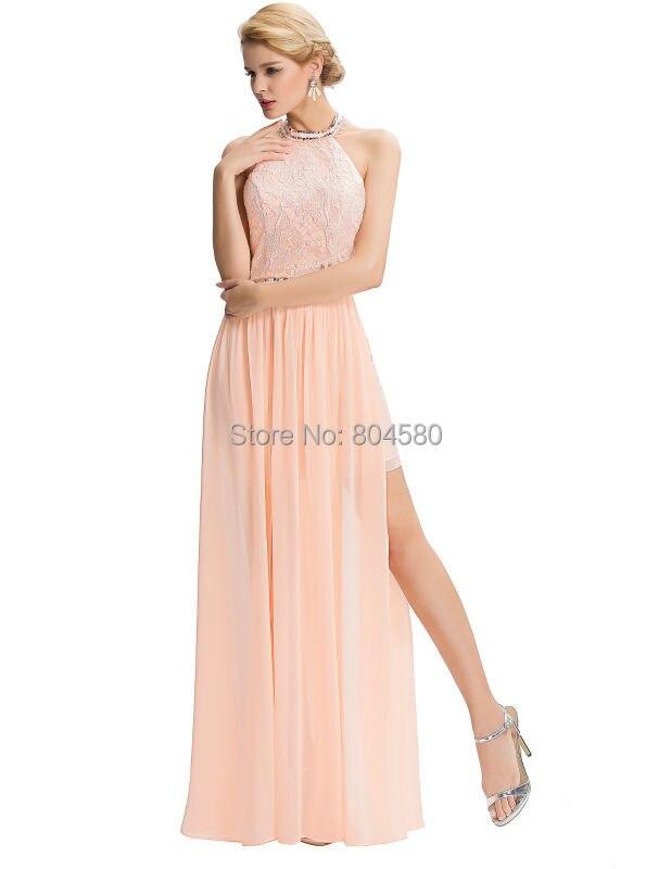 Amerikanischen Stil Elegante Lange Abendkleider Lizenz Neckholder ...
