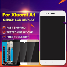2017 New Arrival For Xiaomi Mi A1 5X LCD Display Touch Screen With Frame Digitizer A1 5X 5.5 inch LCD Screen Parts  With Tools