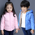 Children boy down jacket Girls Korean short paragraph hooded down jacket winter baby