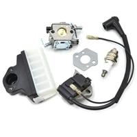 Walbro Air Filter Carburetor Igntion Coil Spark Plug Kit For STIHL 023 025 MS 230 MS