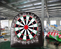 Inflatable throwing game, inflatable dart board, inflatable golf dart game ,inflatable sport for sale