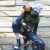1pc/lot Naruto Anime Hatake Kakashi Action Figure Toys PVC Collections Figures Toys Kids Best Gift Brinquedos 21cm