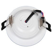 LED Downlight 3W 3 Colours Change Color White/Warm White/Yellow Down Lamp LED Ceiling light Spotlight Indoor Home Lighting