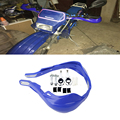 "7/8"" 22mm Dirt Bike ATV Handlebar Motorcycle Brush Bar Hand Guard Handguard Blue motorcycle hand guards"