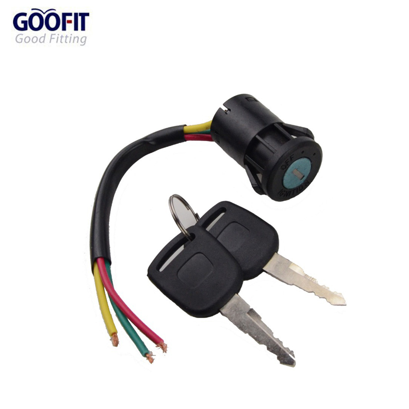 online get cheap ignition switch wiring aliexpress com alibaba goofit 3 wire ignition switch key 50cc 70cc 90cc 110cc 150cc 200cc 250cc go kart dune